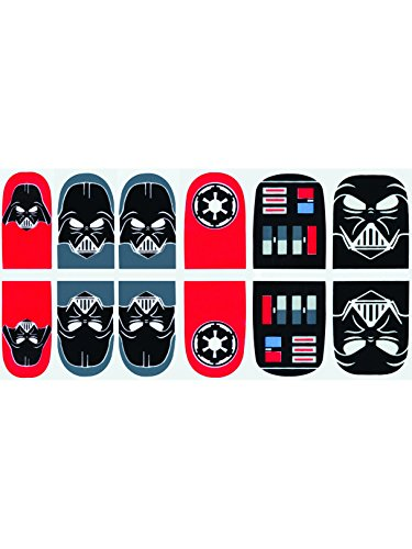 Rubie's Adult Star Wars Darth Vader Nail Stickers -