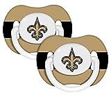 New Orleans Saints Pacifier 2 Pack