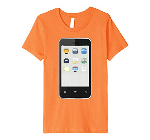 Kids Cell Phone T-shirt Easy Group Halloween Costume Idea 4 -