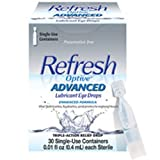 Refresh Optive ADVANCED Lubricant Eye Drops, 2 Bottles 0.33 fl oz (10mL) each Sterile (20mL)