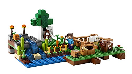 LEGO MINECRAFT COW FROM SET 21114