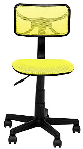 Urban Shop WK659226 Swivel Mesh Task Chair, Neon Yellow