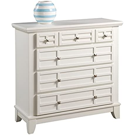 Home Styles 5182 41 Arts And Crafts Four Drawer Chest White Finish
