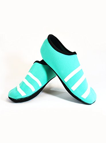 Nufoot Sporty Nu Indoor Womens Shoes Slipper, Teal, Large