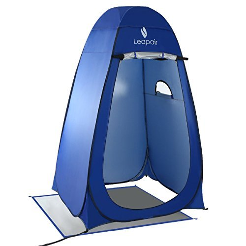 WolfWise Camping Toilet Tent Pop Up Shower Privacy Tent for Outdoor...