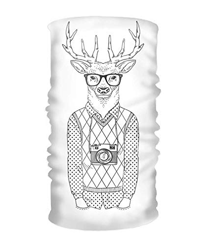 Anthropomorphic Printed Headbands for Women Elastic Head Wrap Twisted Cute Hair Accessories