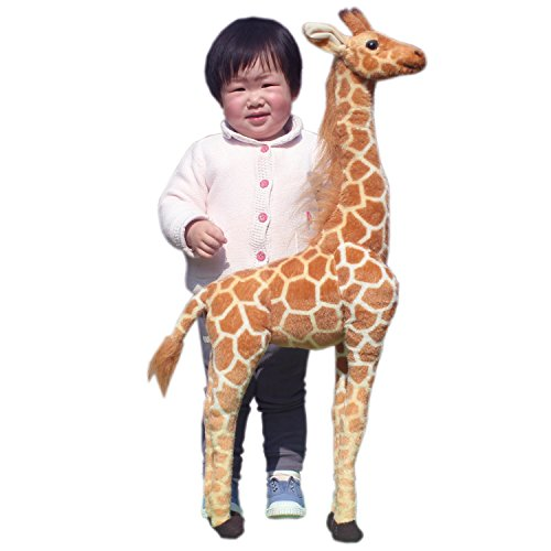 JESONN Stuffed Animals Toys Giraffe Plush (31.5 Inches) (Giraffe Tender)