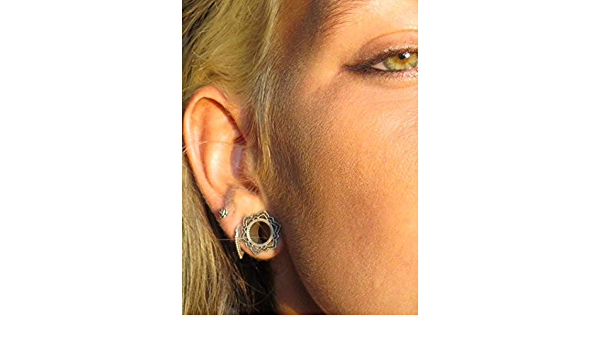 0G 00G 12 916 58 34 78 1 PICK SIZE Gypsy Silver Teal Elegant Wedding Gauges Plugs Jewelry