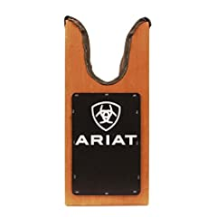 This Ariat Large Boot Jack is here to help. Stop wrestling with your boots every time you need to get them off. This bootjack helps you remove your boots easily and comfortably. Made of stained hardwood, this large bootjack has boot protectio...