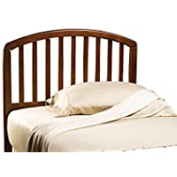 Hillsdale Furniture 1593HTWR Carolina Headboard with Rails, Twin, Cherry