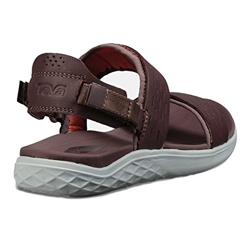 2 Brown Teva Lux Float Nova Terra Womens Sandals ZaAqwO