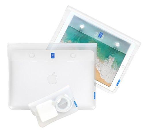 Vinyl Combo Pouch - UkiUnni Magnetic File Folder, Portfolio Organizer, Mini Travel Pouch, Combo Set of 3
