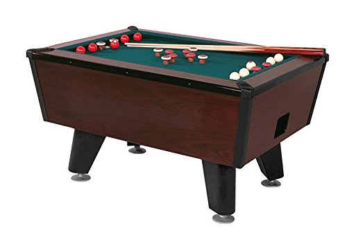 VALLEY-DYNAMO Valley Tiger Cat Bumper Pool Table with Bal...