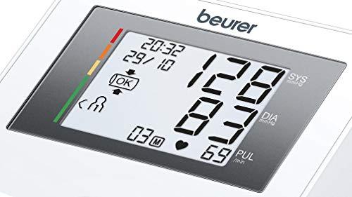 Beurer BM27l tensiómetro de brazo, funcion ok, medición automática, manguito universal, detección arritmia, pantalla…