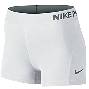 "NIKE 3"" Pro Compression Short White Medium"