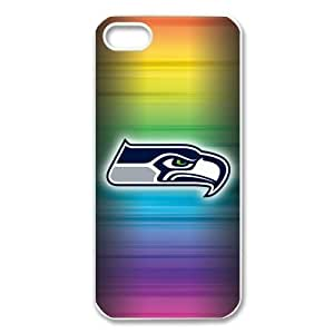 Creative NFL Seattle Seahawks Iphone 5 5S Hard plastic Case Cover by NFL Iphone 5 5S Cases