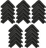 Boing Safety   Mini 2D Rubber Corner Guards   25 Pack   Black