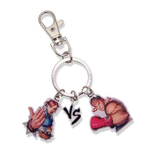 Great Eastern Entertainment Super Street Fighter Iv Chun-Li Vs RYU Keychain ()