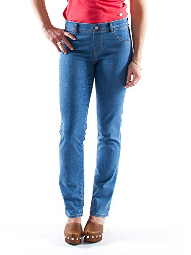 Carrera Jeans - Jeggings 767M822SS pour femme, style droit, style denim, tissu extensible, taille slim, taille normale