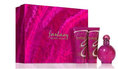 (Britney Spears Fantasy 3 Piece Fragrance Gift Set )