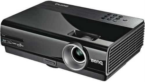BenQ MP626 BLK Projector DLP XGA 2700 ANSI Lume 3D Enabled LAN Ready