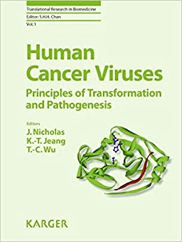 Book Human Cancer Viruses: Principles of Transformation and Pathogenesis (Translational Research in Biomedicine)