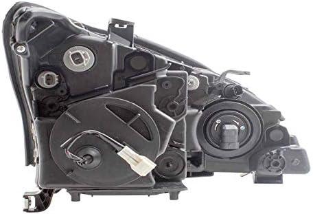 LX R-X330 04-06//R-X350 07-09 HL ASY HALOGEN USA BLT LH CAPA