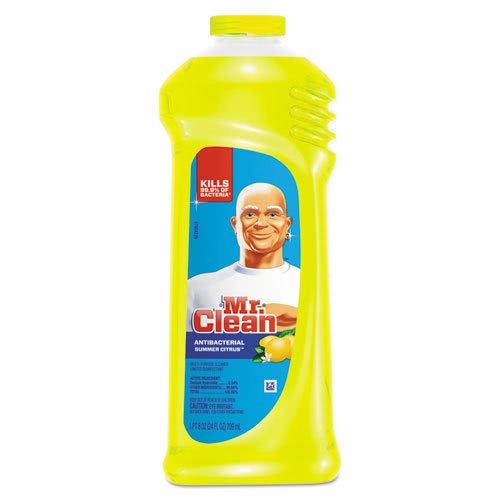 Mr. Clean 82707CT Multi-Surface Antibacterial Cleaner, Summer Citrus Scent, 24 oz Bottle (Case of 9)