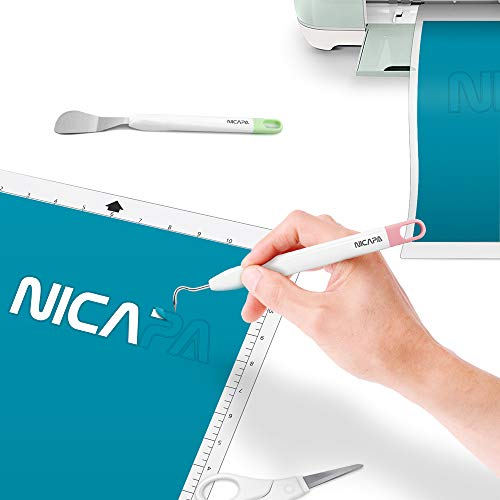 Nicapa Basic Tool Set Craft Weeding Vinyl Cardstock Crafting Tools Kit for  Cricut/Silhouette/Siser/Oracal 631 651 751 Vinyl