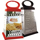 EuroHome 2267704 4 Sided Grater, Stainless Steel