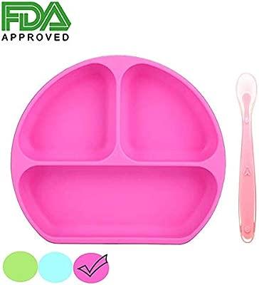 Plato de succión para bebés, aprobado por la FDA y la LFGB de ...
