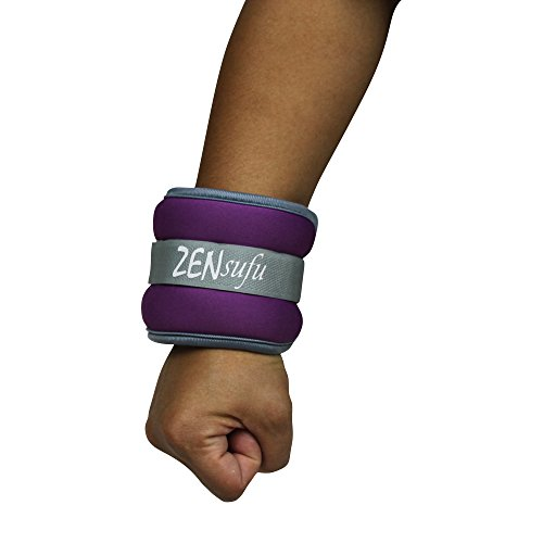 Best Adjustable Wrist Weights: Zensufu Adjustable Ankle Or Wrist Weights (1 LB)