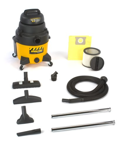 Shop-Vac 9252810 8-Gallon 6.5-Peak HP Industrial  Wet/Dry Vacuum
