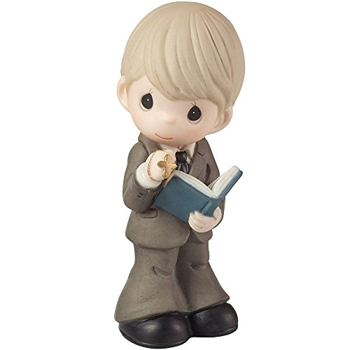 Precious Moments,  This Is The Day The Lord Has Made Boy Figurine, 153007 -