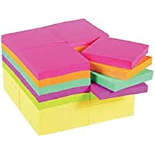 """Post-it® Original Notes, 3"""" x 3"""", Canary Yellow and Cape Town Collection, 36/Pack"""