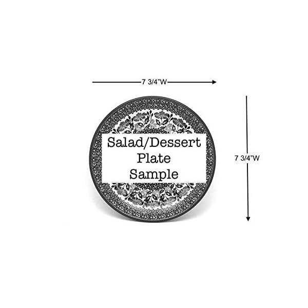 Polish Pottery Plate – 7 3/4 Salad/dessert – Autumn by Polish Pottery Gallery