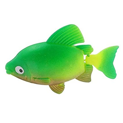 Amazon.com: eDealMax plástico acuario de peces tropicales simulado Artificial ornamento, Verde: Pet Supplies