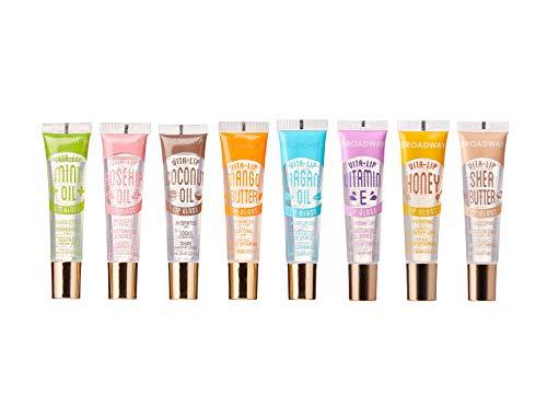 Broadway Vita-Lip Clear Lip Gloss 0.47oz/14ml (8PCS SET)