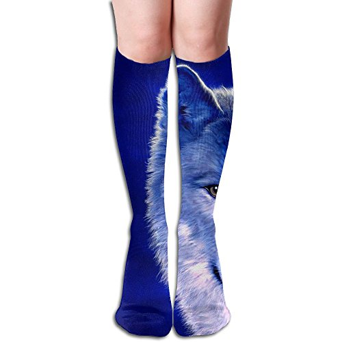 Long Stocking Cool Wolf Women's Over Knee Thigh
