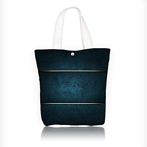 - Canvas Tote Bag A beautiful blue background with a blue nameplate for the inscription. Hanbag Women Shoulder Bag Fashion Tote Bag W11xH11xD3 INCH