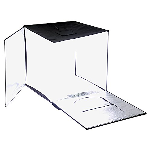 Fotodiox Pro LED 28x28 Studio-in-a-Box for Table Top Photography - Includes Light Tent; Integrated LED Lights; Carrying case and Four backdrops