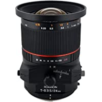 Rokinon TSL24M-O 24mm f/3.5 Tilt Shift Lens for Olympus/Panasonic Standard 4/3 Cameras