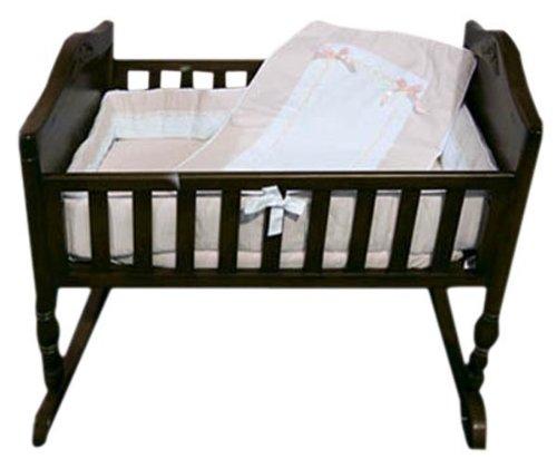 Baby Doll Bedding Royal Pique Crib Bedding Set, Pink