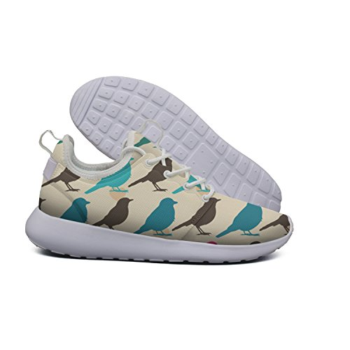 Beach Shoes Sports dog 2 Colorful Lightweight Cross Trainer Birds Flex pattern Summer Womens Hoohle Dachshund Pattern Roshe Fashion Mesh xZqwFIAppd