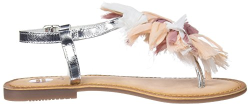 Gioseppo Women's 45269 Open Toe Sandals Silver FCQ0mzl
