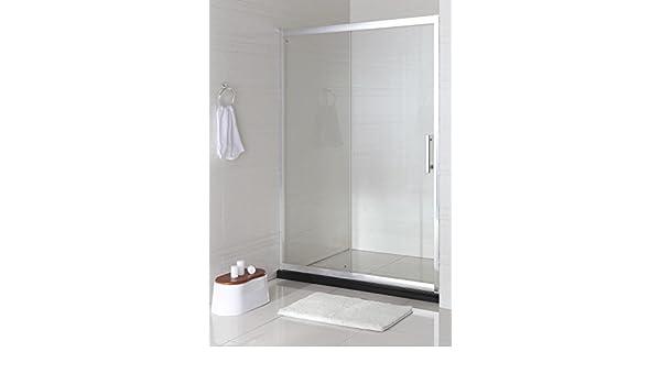 quebaños.com Frontal ducha 2hojas (f+c) WE-05 cromo vidrio 145-150 ...