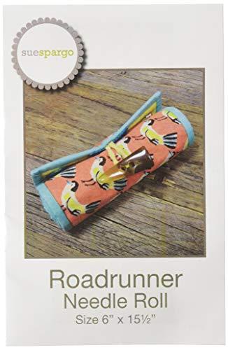 Sue Spargo Folk-Art Quilts SS893 Roadrunner Needle Roll -
