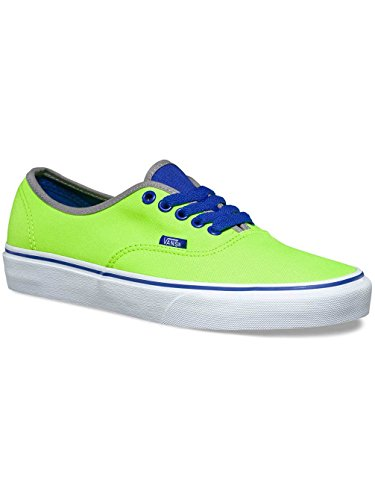 a7bddf74ed Galleon - Vans Men s Authentic Brite Sneakers Shoes Green Size 9