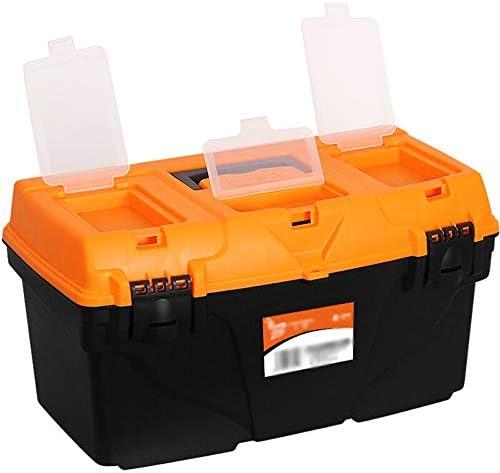 ChenCheng ツール収納ボックス-23インチ厚い素材二重層ツールボックスファミリー収納ツールボックス車のポータブル修理キットパッケージ ツールボックスストレージと組織 (Size : 53cmX26cmX29cm)