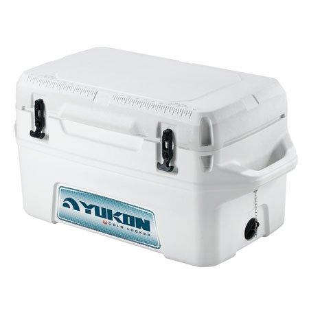 Igloo Yukon Cold Locker Cooler (White, 50-Quart)